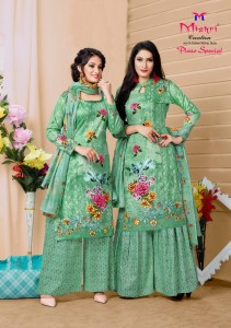 Mishri Plazo Special Vol-3 Karachi Cotton Printed Dress Material ( 10 Pcs Catalog )