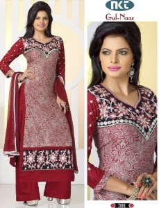 NKT Gul-Naaz Special Lawn Cotton Collections (7 pc Catalog)