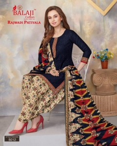 Balaji Cotton Rajwadi Patiyala Vol-5 Ready Made Suit  ( 12 Pcs Catalog )