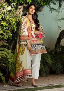 Fair Lady Sana Safinaz Mahay Pakistani Dress Material ( 4 Pcs Catalog )